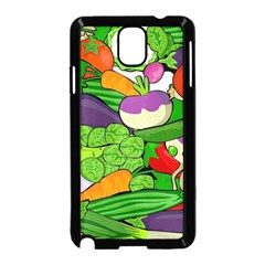 Vegetables  Samsung Galaxy Note 3 Neo Hardshell Case (Black)