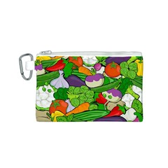 Vegetables  Canvas Cosmetic Bag (S)