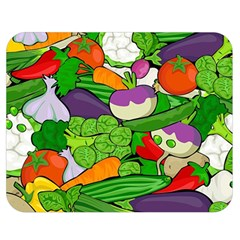 Vegetables  Double Sided Flano Blanket (Medium)