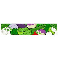Vegetables  Flano Scarf (Small)