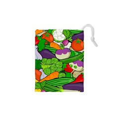Vegetables  Drawstring Pouches (XS)