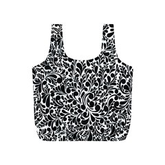 Pattern Full Print Recycle Bags (S)