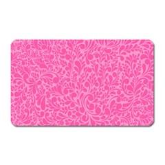 Pink pattern Magnet (Rectangular)