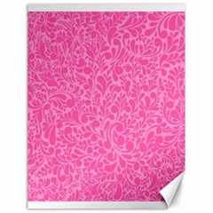 Pink pattern Canvas 18  x 24