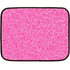 Pink pattern Fleece Blanket (Mini)