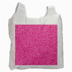 Pink pattern Recycle Bag (Two Side)