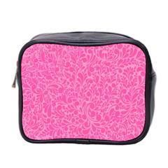 Pink pattern Mini Toiletries Bag 2-Side