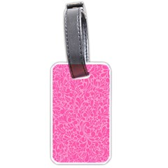 Pink pattern Luggage Tags (Two Sides)