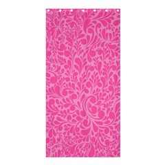 Pink pattern Shower Curtain 36  x 72  (Stall)