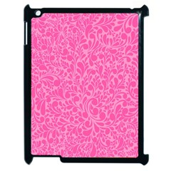 Pink pattern Apple iPad 2 Case (Black)