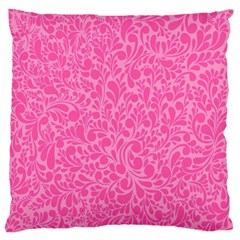 Pink pattern Large Cushion Case (Two Sides)