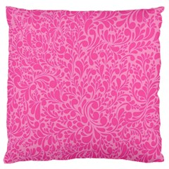 Pink pattern Standard Flano Cushion Case (One Side)