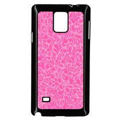 Pink pattern Samsung Galaxy Note 4 Case (Black)