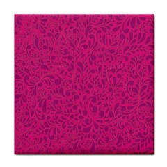 Pink pattern Tile Coasters