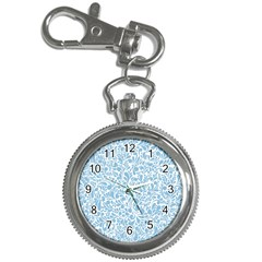 Blue pattern Key Chain Watches