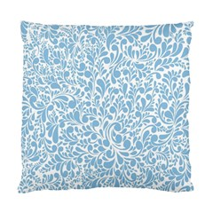 Blue pattern Standard Cushion Case (Two Sides)