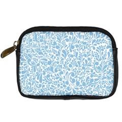 Blue Pattern Digital Camera Cases