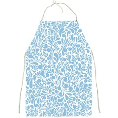Blue pattern Full Print Aprons