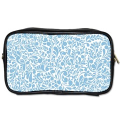 Blue pattern Toiletries Bags 2-Side