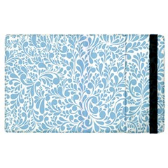 Blue pattern Apple iPad 2 Flip Case