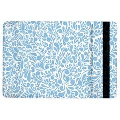 Blue pattern iPad Air 2 Flip