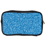 Blue pattern Toiletries Bags 2-Side Front