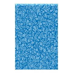 Blue pattern Shower Curtain 48  x 72  (Small)
