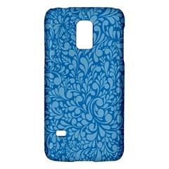 Blue pattern Galaxy S5 Mini