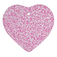 Pink pattern Ornament (Heart)