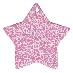 Pink pattern Ornament (Star)