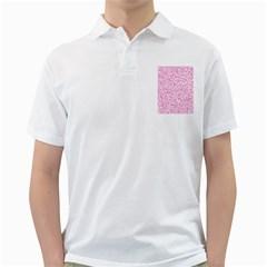 Pink pattern Golf Shirts