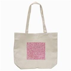 Pink pattern Tote Bag (Cream)