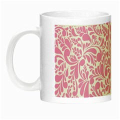 Pink pattern Night Luminous Mugs