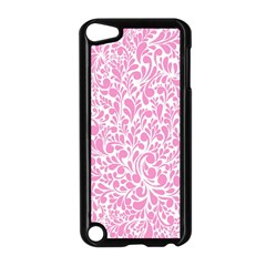 Pink pattern Apple iPod Touch 5 Case (Black)