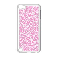 Pink pattern Apple iPod Touch 5 Case (White)