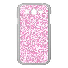 Pink pattern Samsung Galaxy Grand DUOS I9082 Case (White)