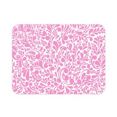 Pink pattern Double Sided Flano Blanket (Mini)
