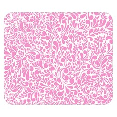 Pink pattern Double Sided Flano Blanket (Small)