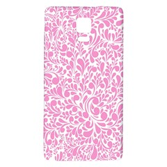 Pink pattern Galaxy Note 4 Back Case