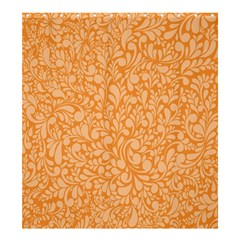 Orange pattern Shower Curtain 66  x 72  (Large)
