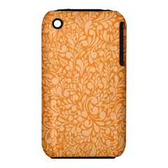 Orange pattern iPhone 3S/3GS