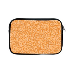 Orange pattern Apple iPad Mini Zipper Cases