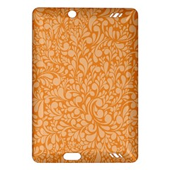 Orange pattern Amazon Kindle Fire HD (2013) Hardshell Case