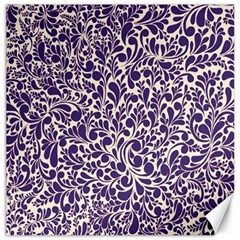 Purple pattern Canvas 20  x 20