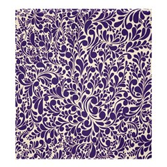 Purple pattern Shower Curtain 66  x 72  (Large)