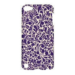 Purple pattern Apple iPod Touch 5 Hardshell Case