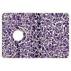 Purple pattern Kindle Fire HDX Flip 360 Case