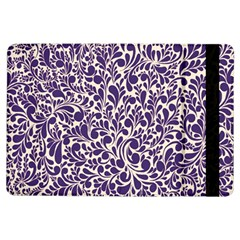 Purple pattern iPad Air Flip
