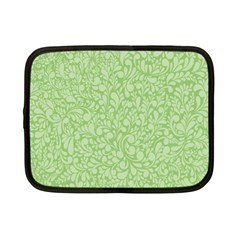 Green pattern Netbook Case (Small)