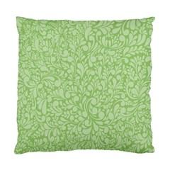 Green pattern Standard Cushion Case (One Side)
